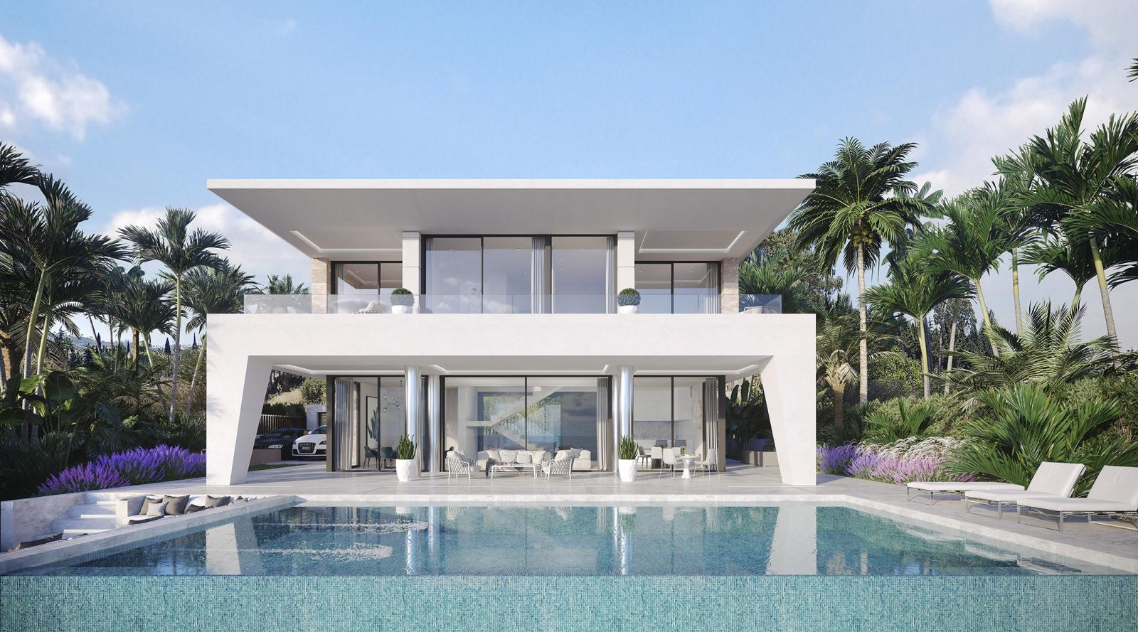 Villa en venta en Los Hidalgos, Manilva